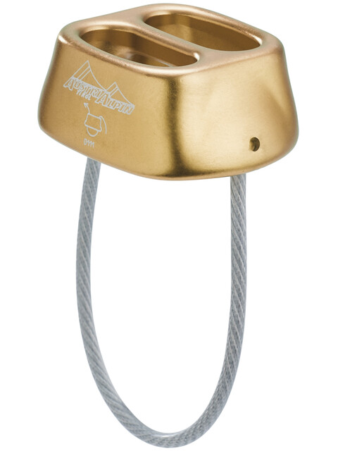 AustriAlpin Tuber Standard Belay Device bronze-brown anodized